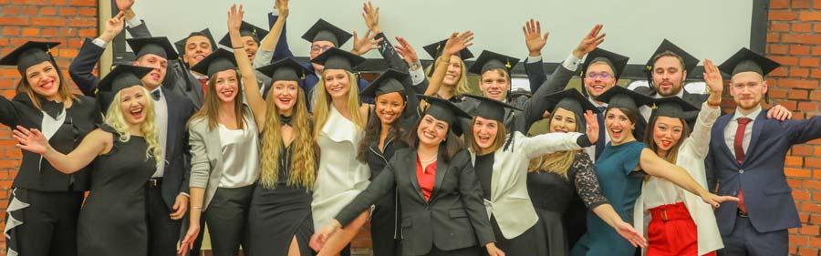 Graduation ceremony EMBS12-January 2020